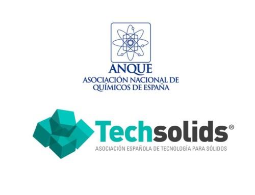 ANQUE, Asociación colaboradora de Techsolids y de la Primera Feria Virtual Internacional de Tecnología para el Proceso Industrial (10 y 11 Febrero 2021)