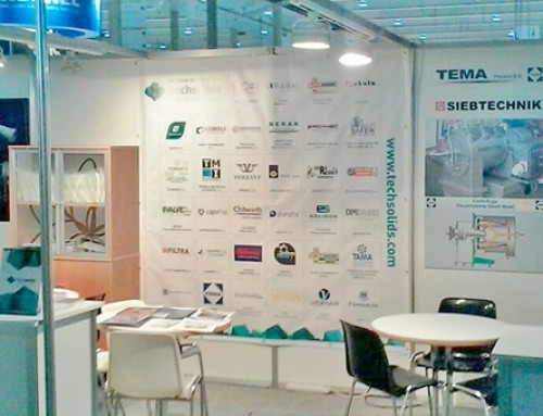 Techsolids stand in BTA 2015