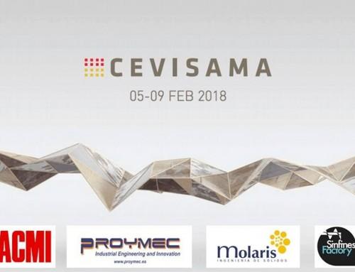 5 Socios de Techsolids exponen en CEVISAMA 2018
