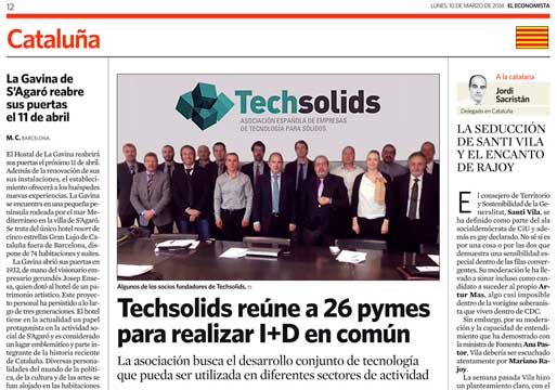 Techsolids en el Economista