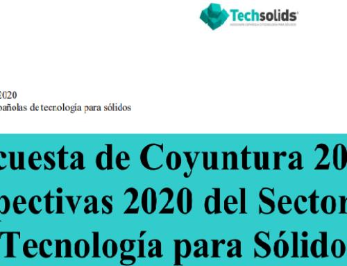 RESULTADOS DE LA ENCUESTA REALIZADA POR Techsolids DE COYUNTURA DEL 2019 Y PERSPECTIVAS PARA EL 2020 DEL SECTOR ESPAÑOL DE TECNOLOGÍA PARA SÓLIDOS