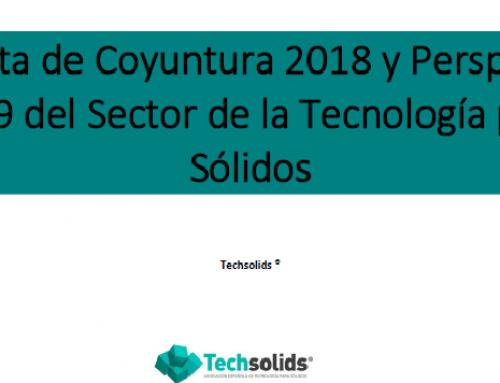 RESULTADOS DE LA ENCUESTA DE COYUNTURA DEL 2018 Y PERSPECTIVAS PARA EL 2019 DEL SECTOR ESPAÑOL DE TECNOLOGÍA PARA SÓLIDOS.