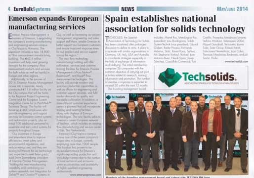 Techsolids en la ervista Eurobulk