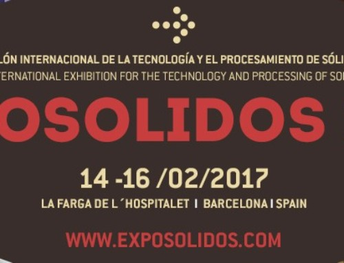EXPOSOLIDOS International Exhibition for the Technology and Processing of Solids, will hold its eighth edition in February 2017