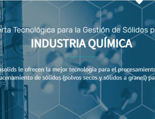 Techsolids presenta su nuevo buscador de productos dirigido en exclusiva al sector químico