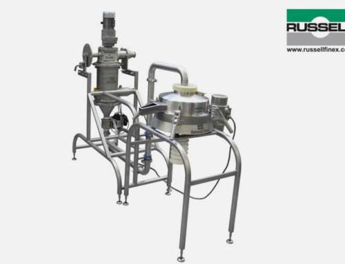 Russell Finex provee una solución de tamizado y filtrado personalizada a dos niveles para mejorar la eficiencia de procesado