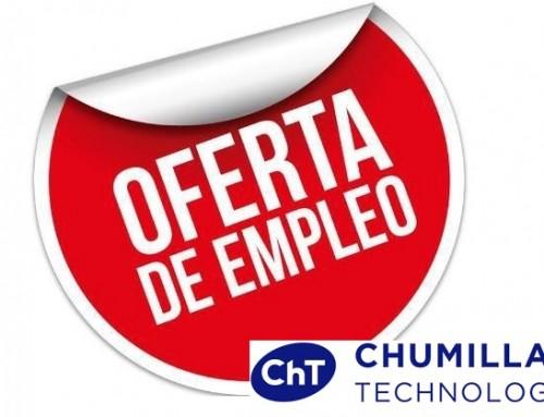 Chumillas Technology  precisa incorporar comercial para el departamento de ventas nacional